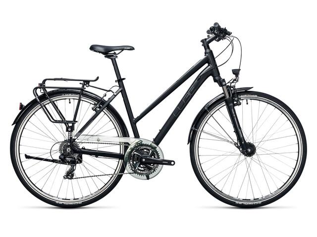 Cube Touring - Vélo de trekking Femme - Trapez noir